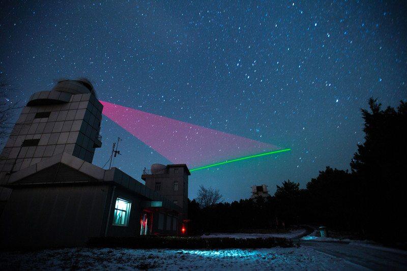 Hạt photon rối đã được truyền xuống Trái Đất từ khoảng cách 1.200 km bằng tia laser