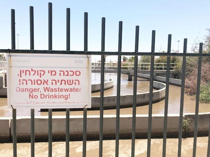 Nước sau quá trình xử lý dù đạt tiêu chuẩn sạch nhưng không dùng để uống, chủ yếu dùng cho tưới tiêu.