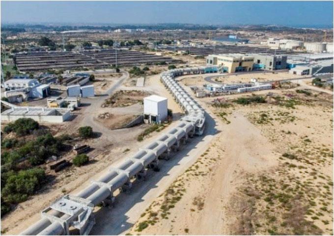 Nhà máy xử lý nước thải khu vực Dan (Shafdan) nằm ở thành phố Rishon Letsion