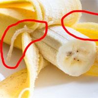 """Những """"sợi vàng"""" trên quả chuối là gì mà khiến ta """"phát điên"""" khi ăn vậy nhỉ?"""