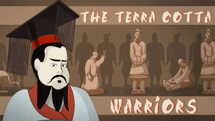 Tần Thủy Hoàng và đội quân đất nung của ông.
