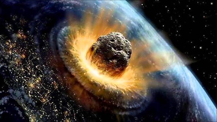 Thiên thạch khổng lồ va chạm với Trái đất gây ra hậu quả khôn lường.