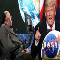 Stephen Hawking hé lộ những điều người ngoài hành tinh biết về Trump