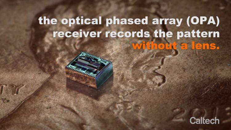Thiết kế camera mới cho phép loại bỏ các thấu kính quang học.