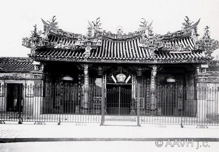 Hội quán Ôn Lăng, 1904.