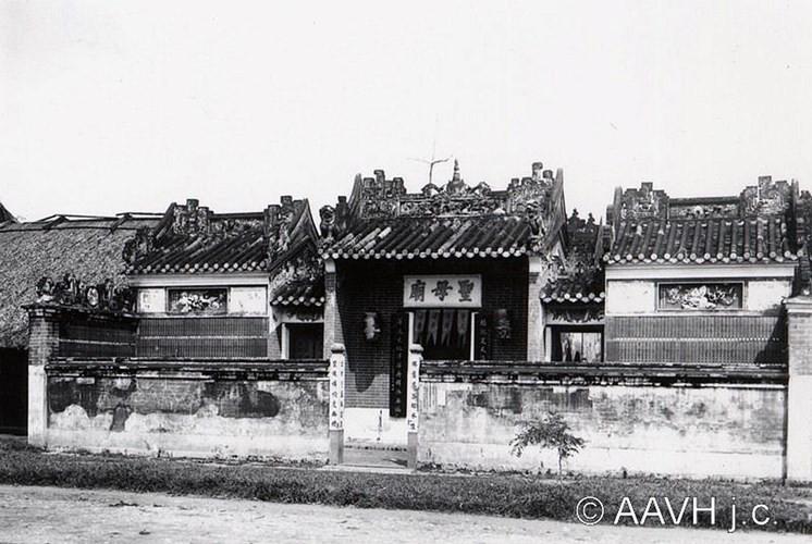 Một đền miếu của người Hoa, 1904.