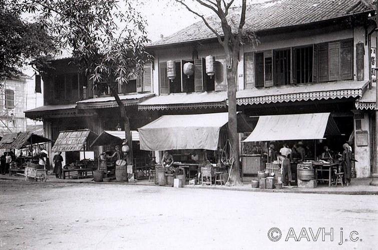 Các tiệm ăn của người Hoa, 1904.