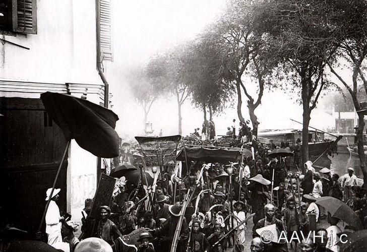 Hình ảnh nằm trong loạt ảnh về vùng Chợ Lớn xưa do trang mạng Hiệp hội bằng hữu Huế xưa của Pháp (Aavh.org) đăng tải.