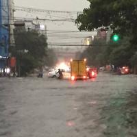 Bắc Bộ mưa lớn diện rộng, nguy cơ ngập lụt, sạt lở ở nhiều nơi
