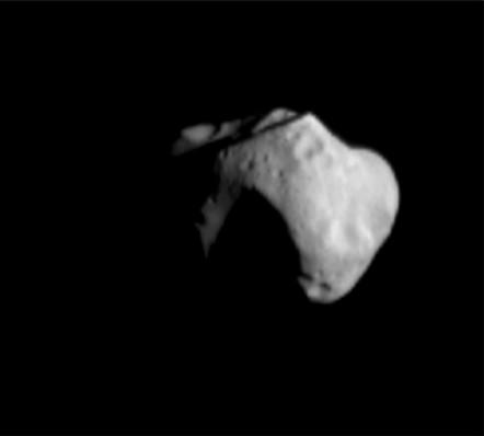 253 Mathilde - một tiểu hành tinh dạng C.