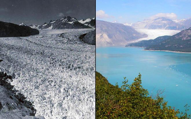 Tình trạng băng tan ở Alaska