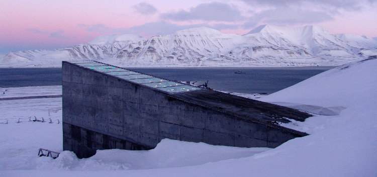 """Hầm tận thế"" tại Na Uy."