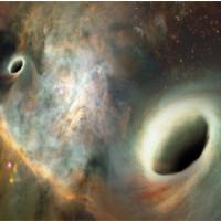 Lần đầu phát hiện hai hố đen quay quanh nhau