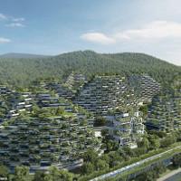 Choáng ngợp trước thành phố rừng xanh đầu tiên của thế giới với 1 triệu cây