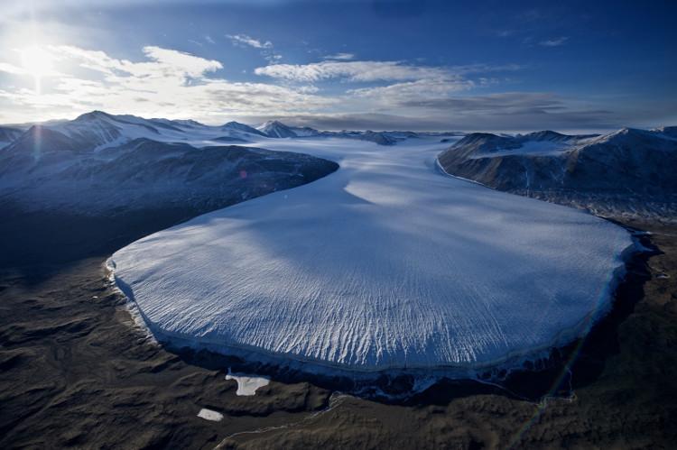 """Tên gọi """"thung lũng khô"""" cũng bắt nguồn từ lý do khí hậu ở McMurdo."""
