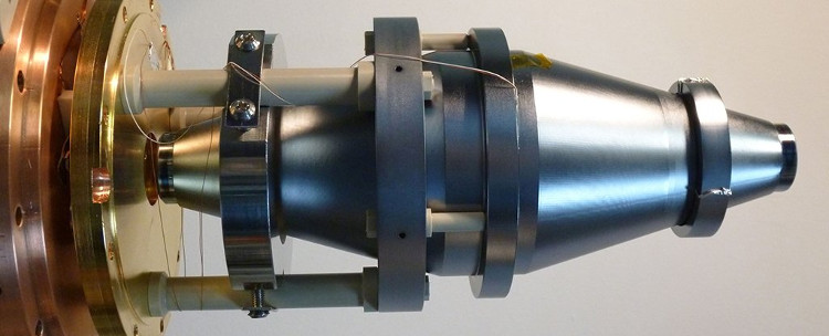 Bộ cộng hưởng silicon, chịu trách nhiệm tạo ra tia laser sắc nét nhất tính tới thời điểm hiện tại.