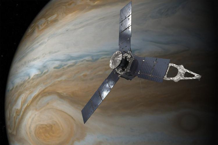 Tàu Juno sắp ghé sát siêu bão nổi tiếng trên sao Mộc.