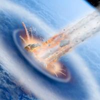 Gió tử thần tiêu diệt sự sống khi thiên thạch đâm vào Trái Đất