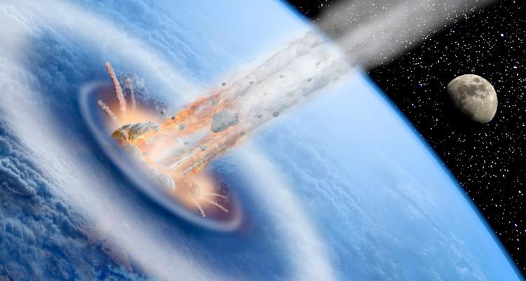 Tiểu hành tinh có thể phát nổ dữ dội khi đâm vào Trái Đất.