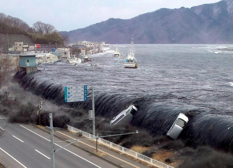 Sóng thần ở Nhật Bản năm 2011.