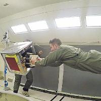 Dọn rác trong vũ trụ bằng robot mô phỏng chân tắc kè