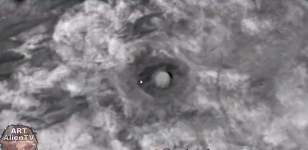 Các cấu trúc này nằm giữa khu vực Mawrth Vallis và miệng hố Oyama.