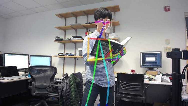 Nhóm nghiên cứu hi vọng sẽ sớm chuyển từ mô hình dạng người 2D sang 3D