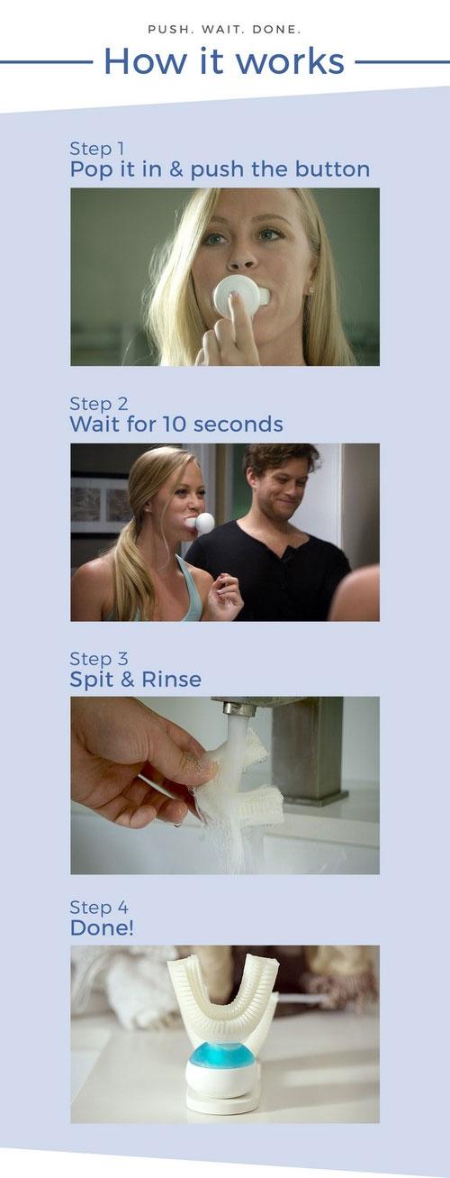 Hướng dẫn cách sử dụng bàn chải đánh răng Amabrush.