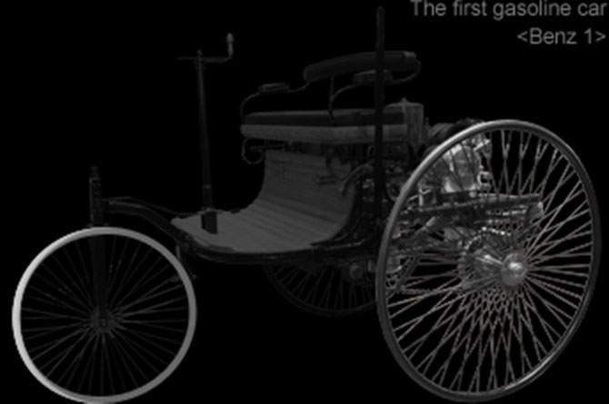 Đến năm 1868, lốp cao su đầu tiên với lõi rỗng được phát minh.