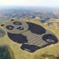 Nhà máy quang điện hình gấu trúc độc nhất vô nhị trên thế giới