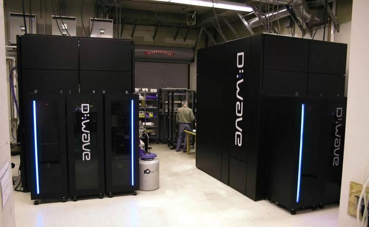 Máy tính lượng tử D-Wave 2X do Google chế tạo.
