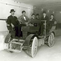 Mẫu xe điện đầu tiên của thế giới tại nhà quốc hội Mỹ