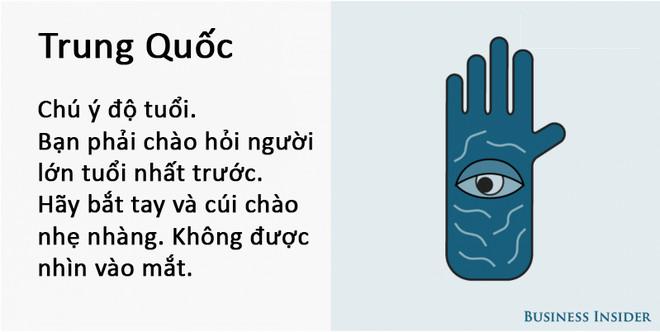 Cách bắt tay của người Trung Quốc