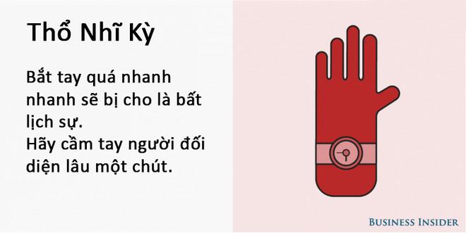 Cách bắt tay của người Thổ Nhĩ Kỳ