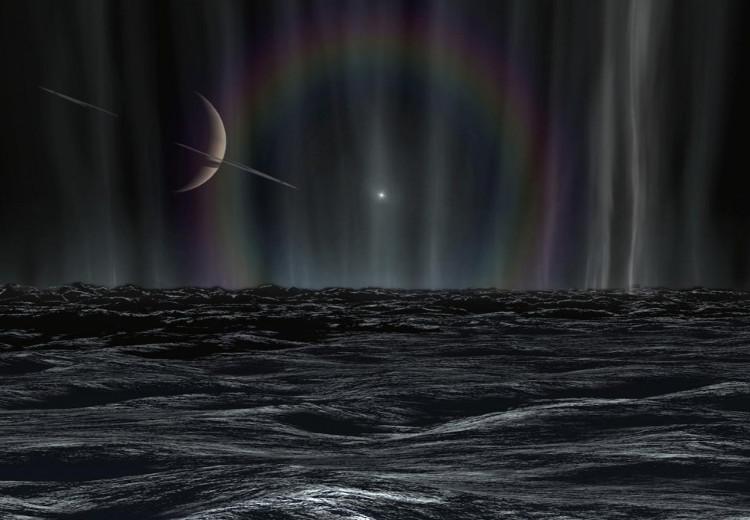 Gió trên Titan có tốc độ không cao.