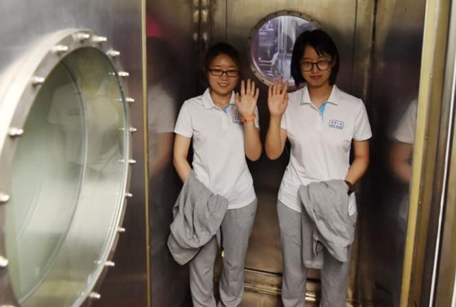 Các sinh viên Trung Quốc sẽ sống thử nghiệm 200 ngày trên không gian.