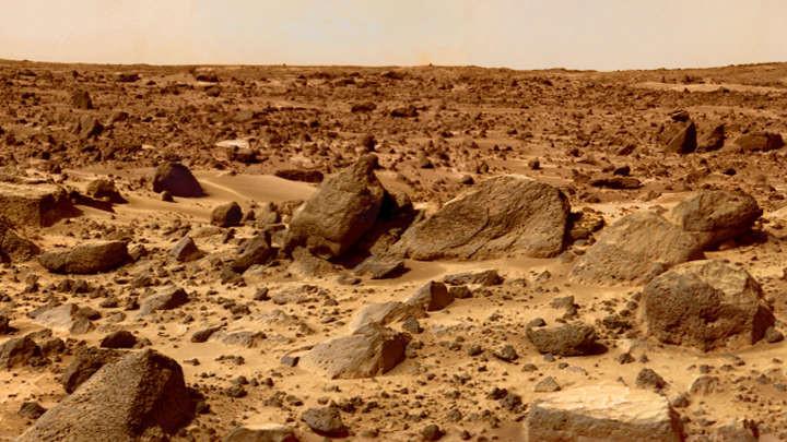 Bí mật trên bề mặt sao Hỏa.