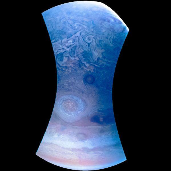 Giờ chúng ta đã có những bức ảnh đẹp nhất từ trước đến nay về Vết Đỏ Lớn trên sao Mộc