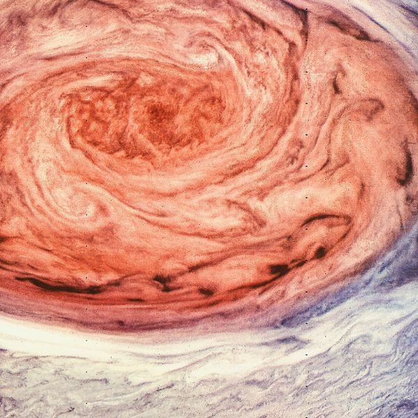 Những hình ảnh được mong đợi này của Vết Đỏ Lớn trên Sao Mộc là 'cơn bão hoàn hảo' của nghệ thuật và khoa học