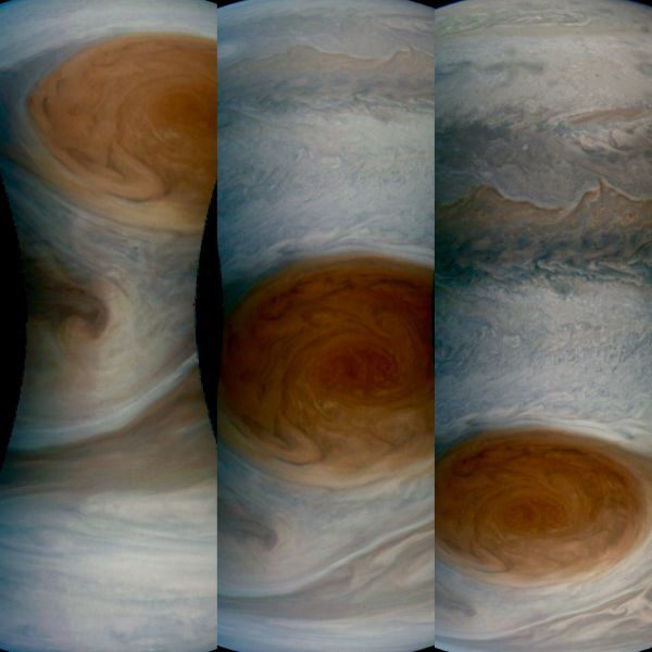 Hình ảnh gần nhất về Vết Đỏ Lớn trên hành tinh lớn nhất Hệ Mặt Trời.