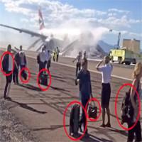 Vì sao khách quyết không bỏ hành lý dù máy bay sắp phát nổ?