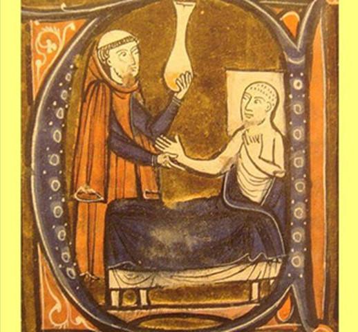 Nhiều thầy thuốc thời Trung cổ sử dụng nước tiểu của người bệnh để chẩn đoán bệnh tật.