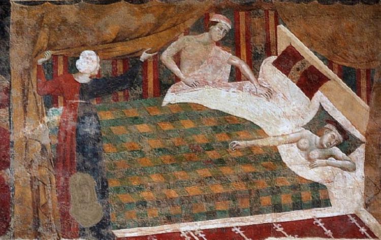 Nhiều người dân sống vào thời Trung cổ ngủ trong những chiếc nệm làm bằng rơm.