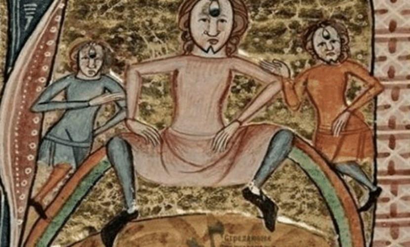 Phụ nữ nông thôn thời Trung cổ thỉnh thoảng đi vệ sinh ngay tại đường phố mà không hề e ngại