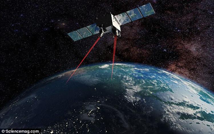 Vệ tinh này được phóng lên vốn để phục vụ cho các thí nghiệm lượng tử của con người