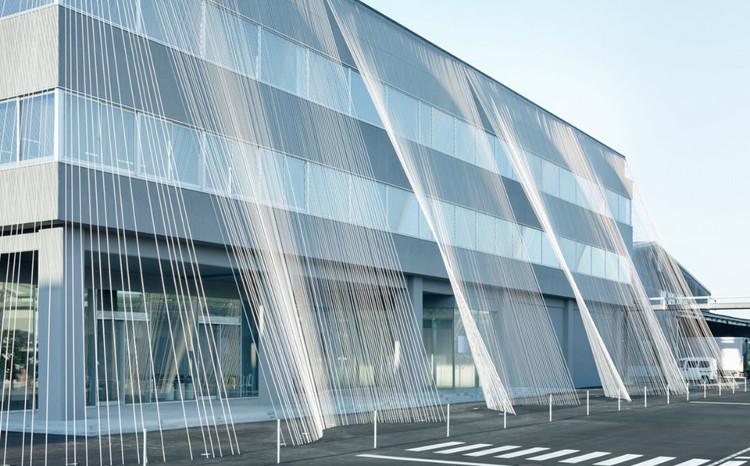 Phương pháp chống động đất mới này được cho là mang lại vẻ đẹp thanh lịch cho tòa nhà.
