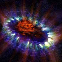 Dựng bản đồ 3D lõi của một siêu tân tinh