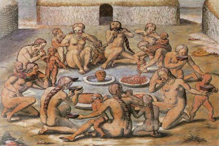 Liệu hình vẽ này về thổ dân Caribean có là sản phẩm của trí tưởng tượng?