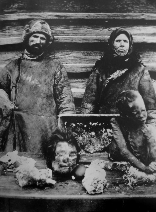 Ảnh tư liệu thời có nạn đói ở Nga 1921.