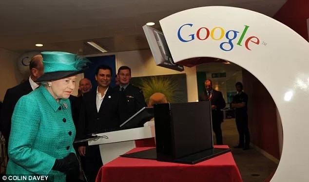 Rất nhiều khách mời đặc biệt xuất hiện trong các văn phòng của Google trên khắp thế giới